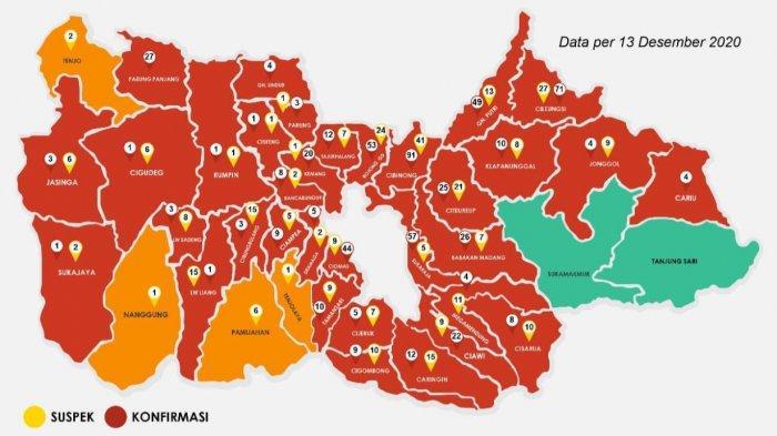 Sepekan Terakhir, Rata-Rata 50 Warga Kabupaten Bogor Terpapar Covid-19 Setiap Hari