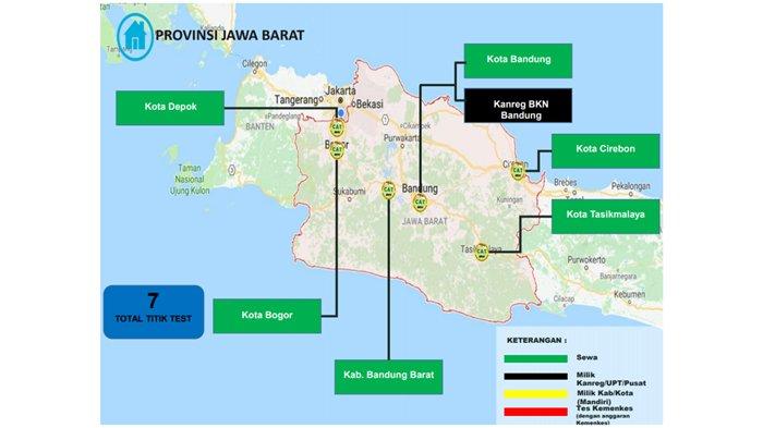 Ini Daftar Lokasi Tes Seleksi Kompetensi Dasar CPNS 2018 di Provinsi Jawa Barat dan Banten