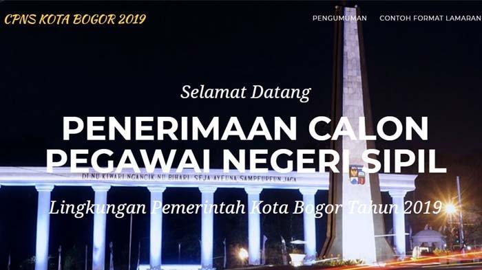 Pengumuman Hasil Seleksi Administrasi CPNS 2019 Kota Bogor, Cek Namamu Klik Link Di Sini !