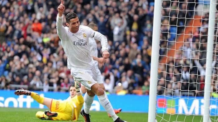 Real Madrid Menang Besar Lawan Sporting Gijon, Trio BBC Cetak Gol