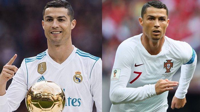 Ronaldo Sering Pakai Jersey Lengan Panjang di Timnas Maupun Klub, Ternyata Ini Alasannya !