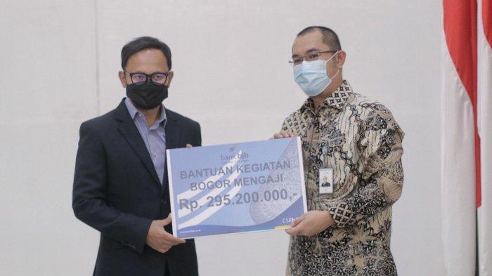 Bantu Kegiatan Bogor Mengaji, BJB Cabang Kota Bogor Serahkan CSR Rp 295 Juta Lebih
