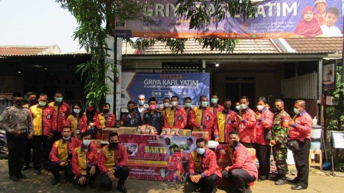 Bakti Sosial, Jajaran Lapas Khusus Kelas II A Gunung Sindur Sambangi Yayasan Griya Kafil Yatim