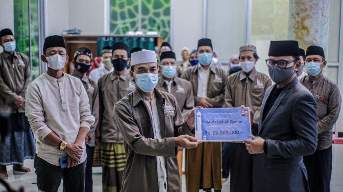 Alhamdulilah, 50 Masjid Dapat Kucuran Dana Hibah Rp 1,45 Miliar