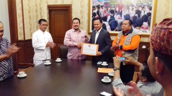 Kota Bogor Siaga Darurat, BNPB Gelontorkan Rp 250 juta Dana Siap Pakai