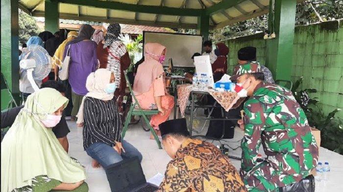 Tinjau Serbuan Vaksinasi, Danrem 061/Suryakancana Targetkan 1000 Orang