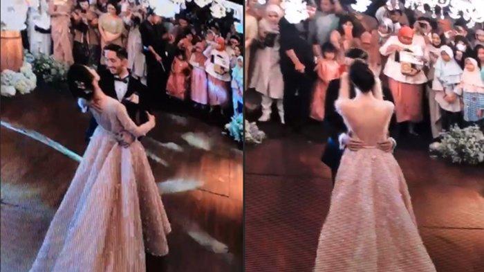 Syahnaz-Jeje Berdansa Ala Film Disney, Kejutan Dance Flashmob di Pesta Resepsi Seru Banget