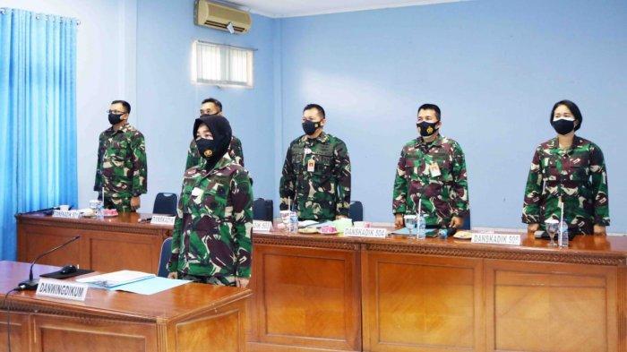 Danwingdikum Ikut Rapim TNI AU Secara Virtual, Kasau Beri Arahan Untuk Tingkatkan SDM
