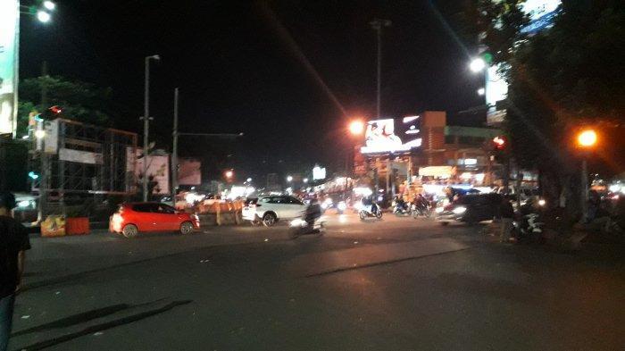 Info Lalu Lintas - Arus Kendaraan di Simpang Ciawi Malam Ini Ramai Lancar