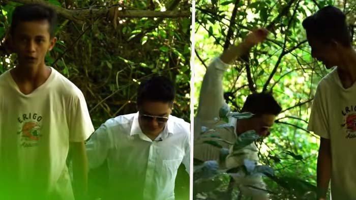 Datangi Artis TikTok ke Hutan, Boy William Syok Hampir Terpeleset ke Jurang: Ga Kebayang Kalau Jatuh
