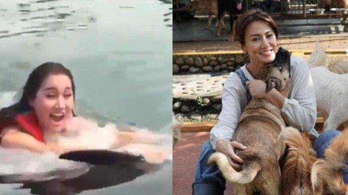 Aksi Lucinta Luna Pada Lumba-Lumba Dikecam Banyak Orang, Pernyataan Susi Pudjiastuti Menohok