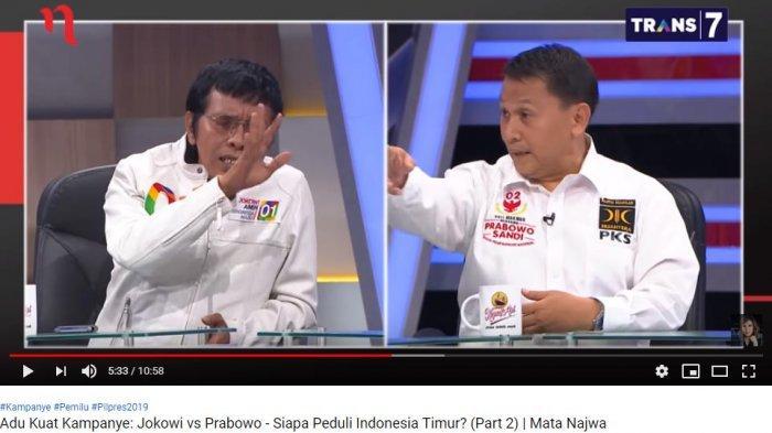 Debat Panas dengan Mardani Ali di Acara Mata Najwa, Adian Napitupulu: Intelek Sedikit Bang