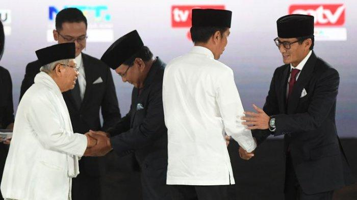 Jokowi Tanya Soal Mobile Legends, Prabowo Bahas Petani Hingga Nelayan