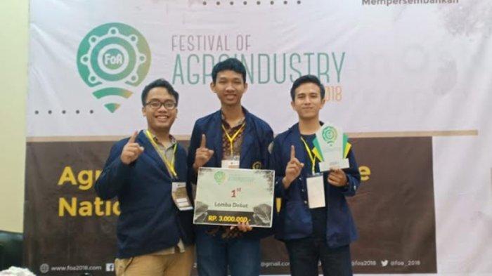 Jadi Tuan Rumah, Mahasiswa IPB Sabet Juara 1 Debat Agroindustri