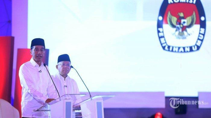 Debat Pilpres 2019- Curhat Anaknya Tak Diterima CPNS, Jokowi Akui Tak Keluar Biaya Saat Pilkada DKI