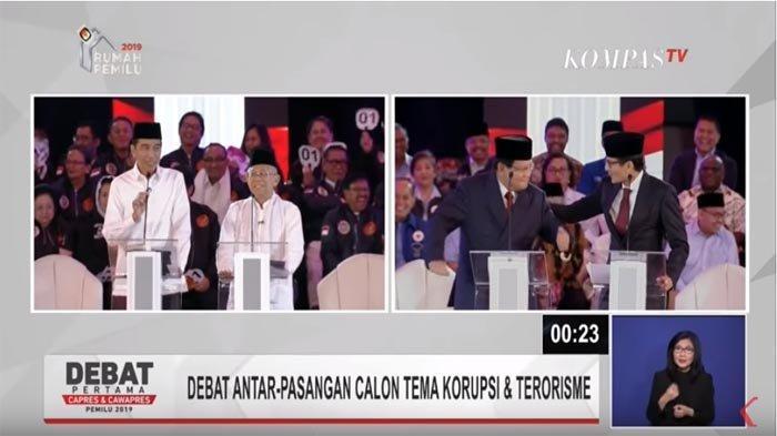 Dua Kubu Paslon Sebut Debat Pilpres Perdana Kurang Menarik, Moderator Dianggap Terlalu Kaku