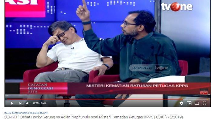 Debat Panas Soal Kematian Ratusan Anggota KPPS, Haris Azhar : Kenapa Negara Cuma Bayar RP 500 Ribu