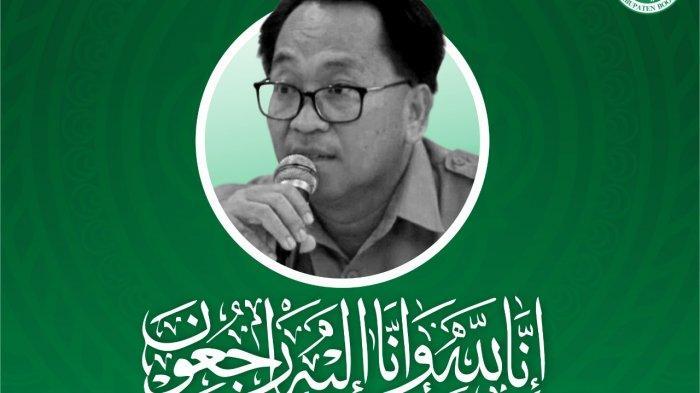 Kabar Duka: Sekretaris Dinas Kesehatan Kabupaten Bogor, dr Dedi Syarif Meninggal Dunia