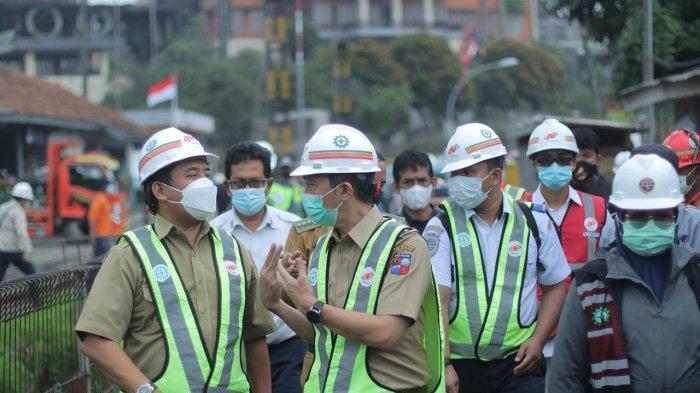 Sinkronisasi Proyek Rel Ganda, Wakil Wali Kota Bogor Cek Progres Pembangunan