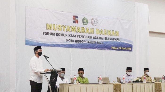 Puluhan Penyuluh Agama Islam Berkumpul, Dedie Berikan Apresiasi : Ciptakan Kota Bogor Kondusif