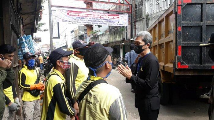 Tinjau Normalisasi Jalan Pedati, Wakil Wali Kota Bogor Acungkan Jempol untuk Petugas Kebersihan