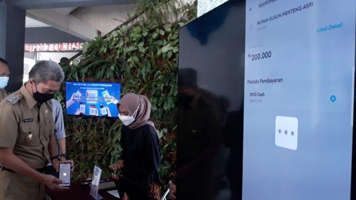 Wakil Wali Kota Bogor Kenalkan Aplikasi Sipacar di Rusunawa