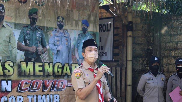 Pimpin Apel Polisi RW di Sindangsari, Dedie Kembali Ingatkan Protokol Kesehatan