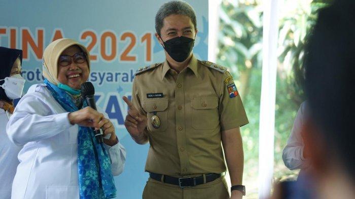 Wakil Wali Kota Bogor, Dedie A Rachim menghadiri Bulan Mutu Karantina 2021.