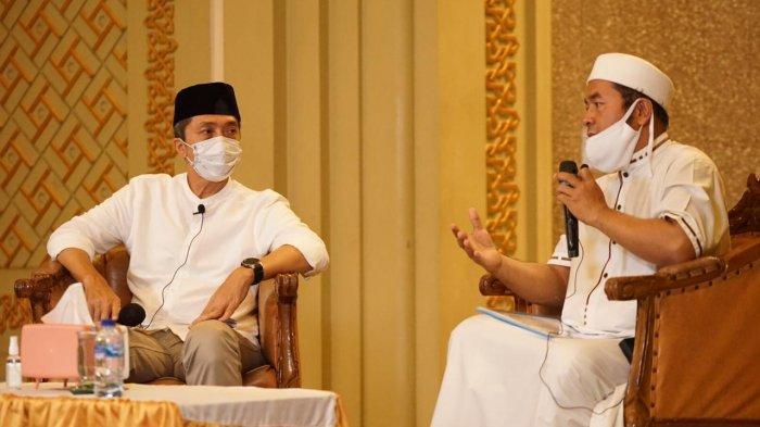 Malam ke-23 Ramadan, Wakil Wali Kota Isi Kajian dan Itikaf di Masjid Raya
