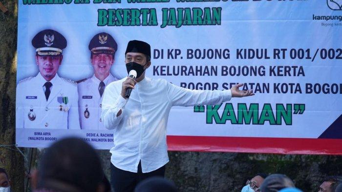 Datangi Kampung Bojongkerta, Wakil Wali Kota Bogor Salut Warganya Kompak dan Mandiri