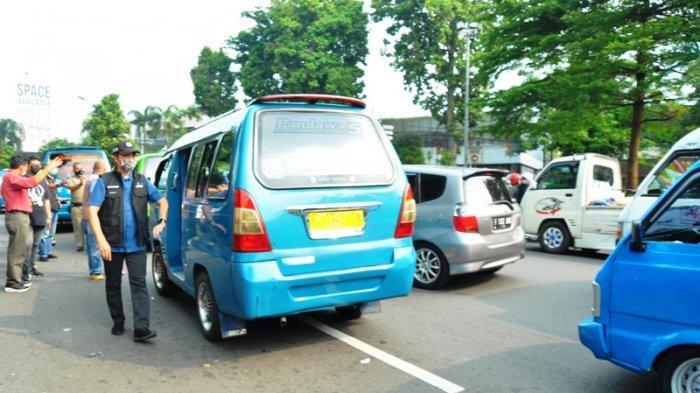 Sidak Jalur Macet, Wakil Wali Kota Bogor Geram Lihat Sopir Ngetem Tak Pakai Masker