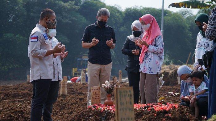 Dampingi Anggota DPR, Dedie Rachim Sampaikan Kondisi Pemakaman Khusus Covid-19