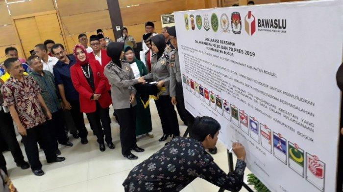 748 Caleg Bakal Berebut Kursi Wakil Rakyat di Kabupaten Bogor