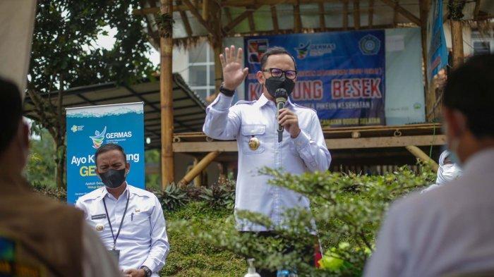 Gairahkan Pola Hidup Bersih Sehat, Pemkot Bogor Deklarasikan Kampung Besek di Bojongkerta