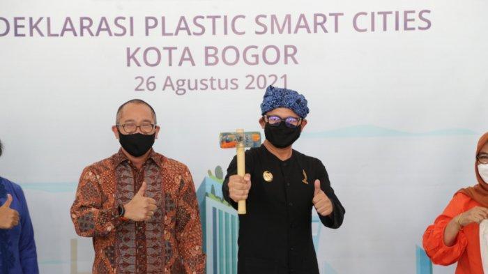 Demi Mengurangi dan Mengelola Sampah Plastik, Kota Bogor Deklarasikan Plastic Smart Cities