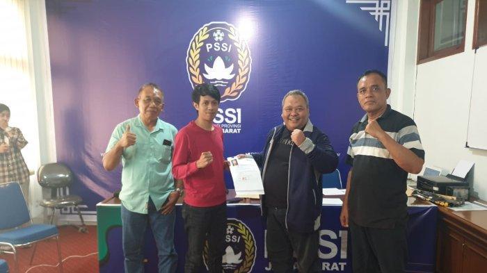 Delif Subeki Calonkan Diri Jadi Calon Ketua Umum PSSI Asprov Jawa Barat