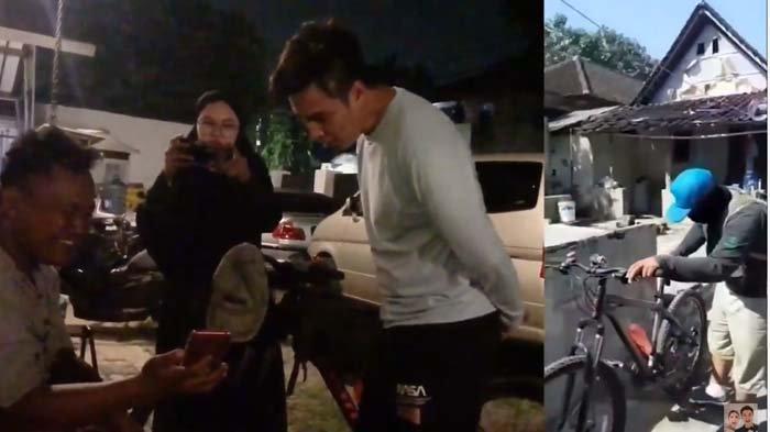 Demi Ketemu Baim Wong, Pria Ini Rela Naik Sepeda dari Klaten, Tujuannya Cuma Minta Foto Bareng