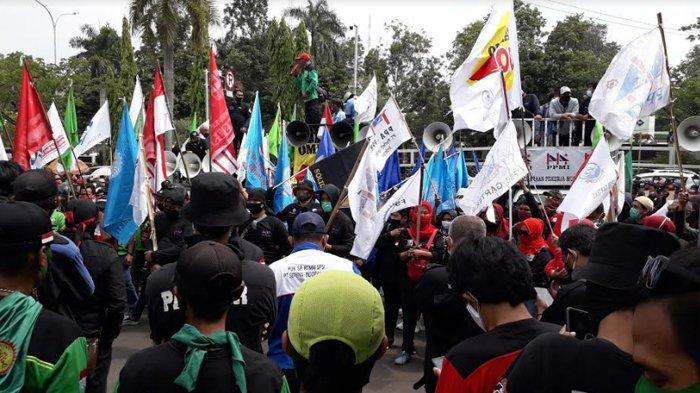 KSPI Tak Ikut Demo Tolak UU Cipta Kerja, Ini Penjelasan Said Iqbal