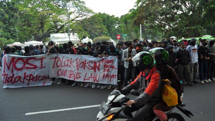 Ada Aksi Unjuk Rasa di Depan Istana Bogor, Lalu Lintas Seputar SSA Padat Merayap