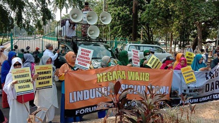 Kasus Anjing Masuk Masjid di Bogor, Polisi, MUI, dan FUI Bogor Raya Lakukan Mediasi