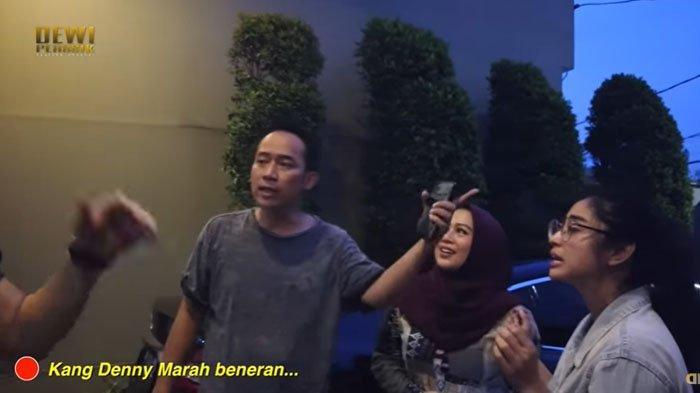 Denny Cagur Marah ke Dewi Perssik karena Prank Selingkuh, Bentak Angga Wijaya : Punya Istri Dididik