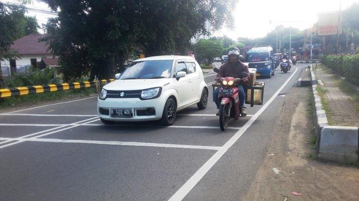 Lalu Lintas Jalan KS Tubun Bogor Lancar Depan Mako Brimob Kedung Halang