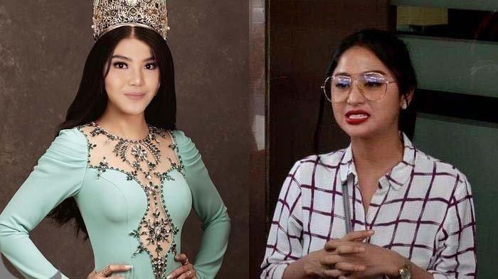 Dewi Perssik Nyengir Lihat Foto Meldi Jadi Miss Earth, Kasih Alternatif Lain : Mending Sama Tante !