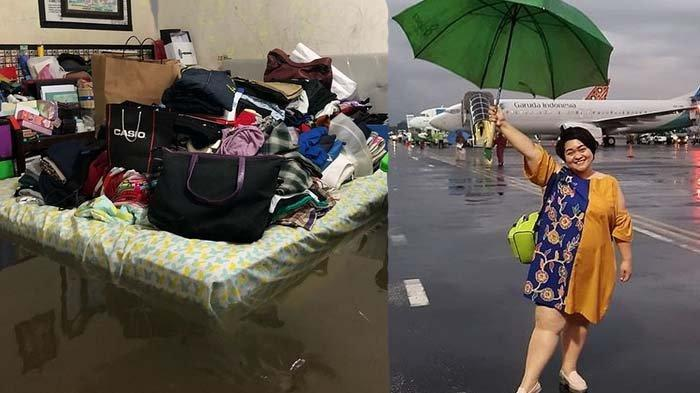 Rumah Artis Terendam Banjir di Tahun Baru 2020, Evi Masamba Nangis Ucap Istighfar, Sinyorita Ngungsi
