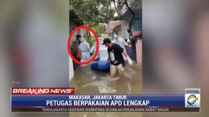 Soroti Detik 35 Video Petugas Bawa Jenazah Covid Saat Banjir, Mbah Mijan : Diduga Rebut Merebut