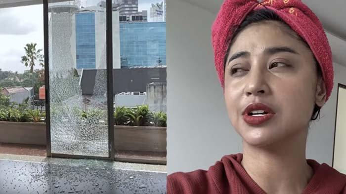Dewi Perssik Geram Lapor Polisi Diduga Kena Teror, Kaca Rumahnya Pecah: Kepada Siapapun yang Berbuat