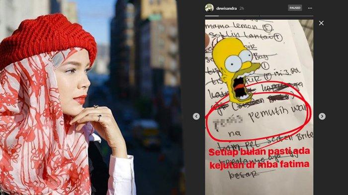 Dewi Sandra Sempat Syok Baca Daftar Belanjaan PRT-nya, Ternyata Barang Ini yang Dimaksud