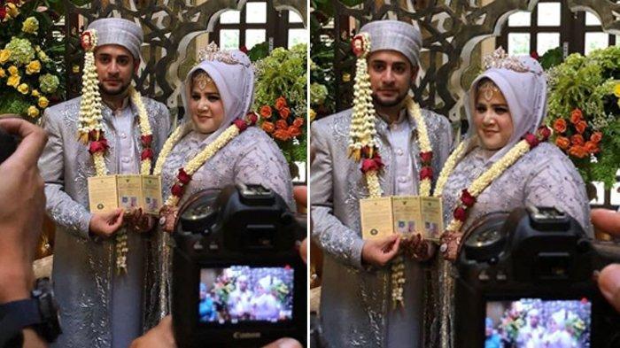 SAH ! Dhawiya Resmi Menikah dengan Muhammad, Putri Elvi Sukaesih Tatap Manja Sang Suami