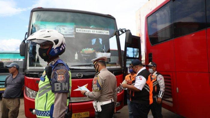 Jelang Libur Panjang Natal dan Tahun Baru, Puluhan Bus dan Sopir Diperksa di Terminal Baranangsiang
