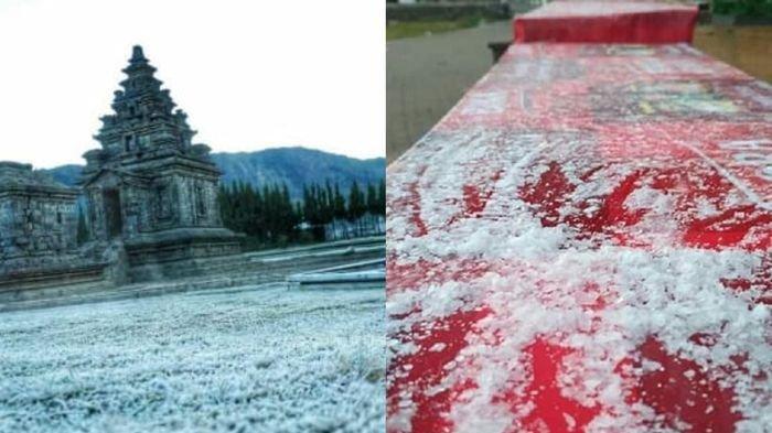 Bak Negara di Eropa, Wisata Dieng Mencapai Suhu 2 Derajat Celsius